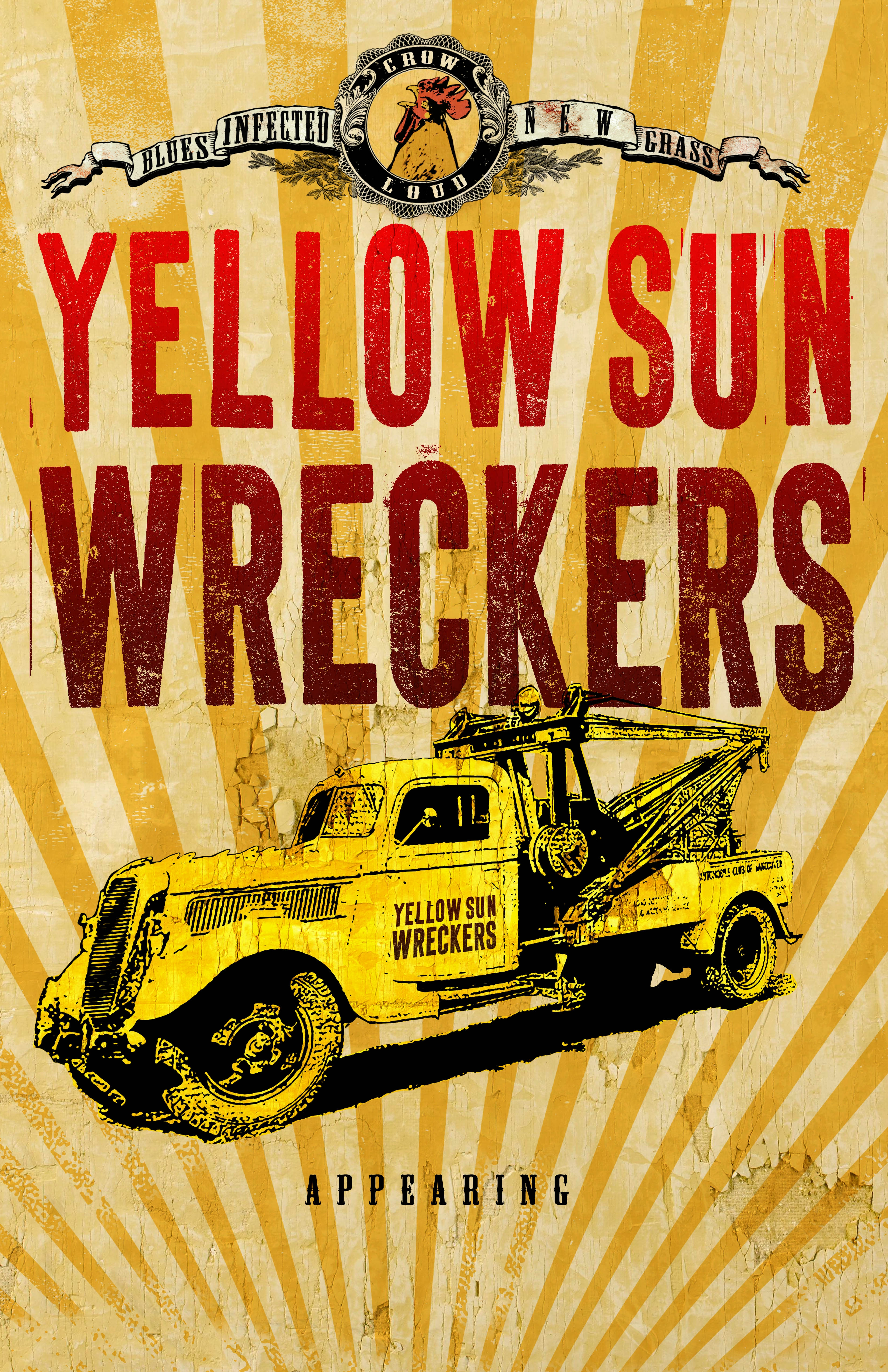 Yellow Sun Wreckers Poster